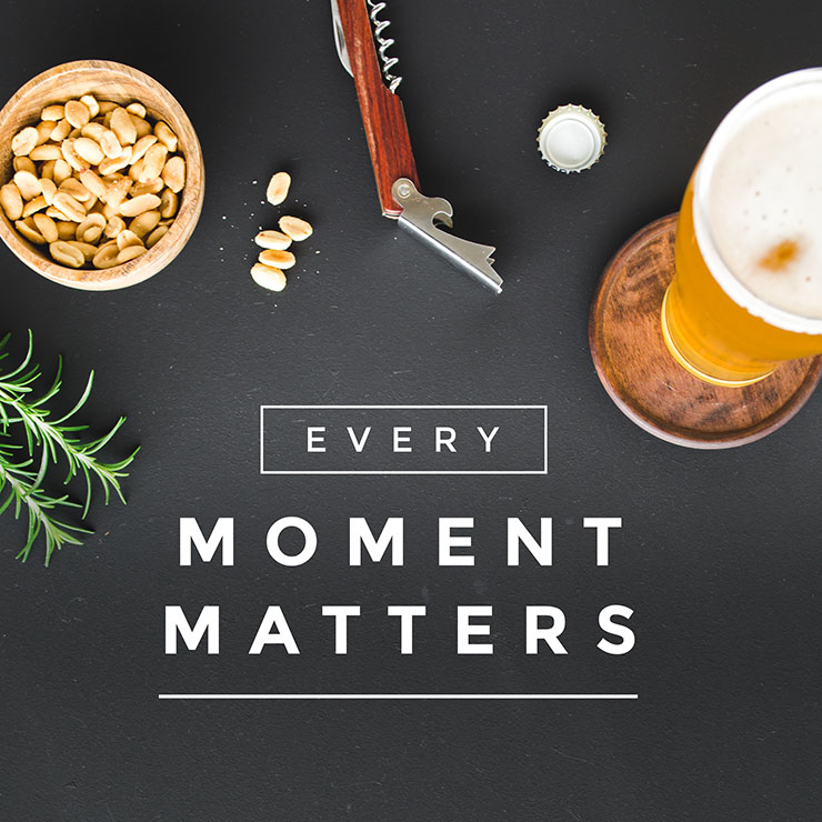 Every moment matters - Easil template