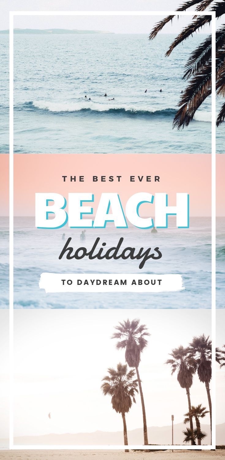 "Beach Holidays Template: Hack Visual Design Series"": Pinterest Templates 10 Ways"