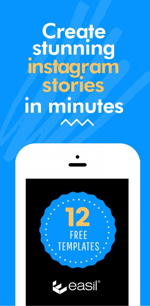 12 Free Stunning Instagram Stories Templates you can complete in minutes