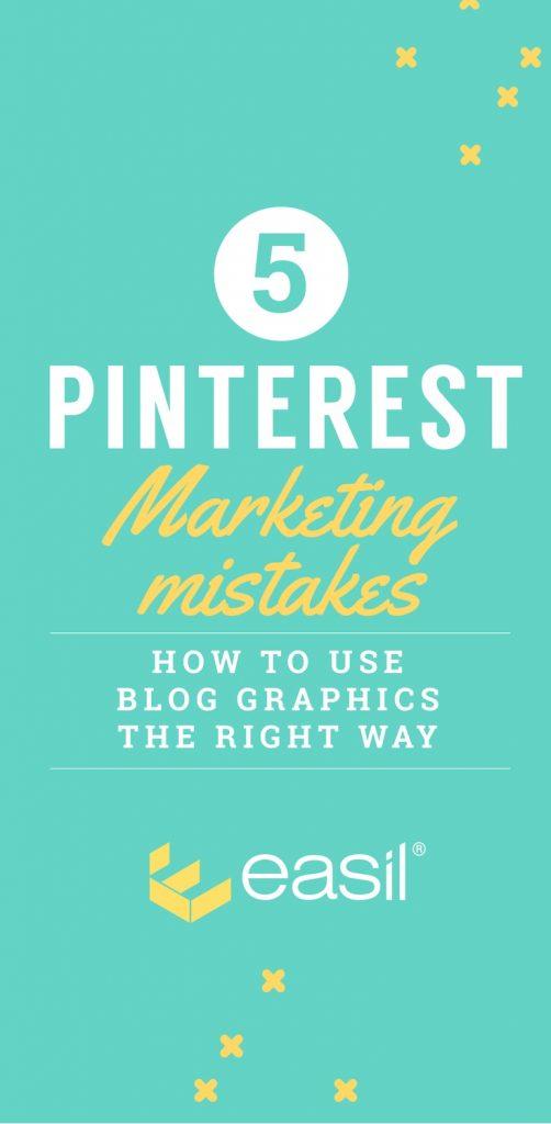 Five Pinterest Marketing mistakes to avoid