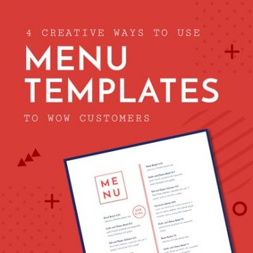 Seasonal Menu Templates - Learn 4 creative ways to wow your customers