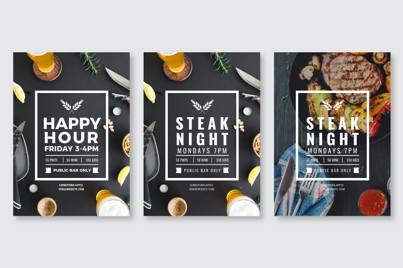 Changing out the text, font and image on a design template - How to Use DIY Graphic Design Templates like a Pro