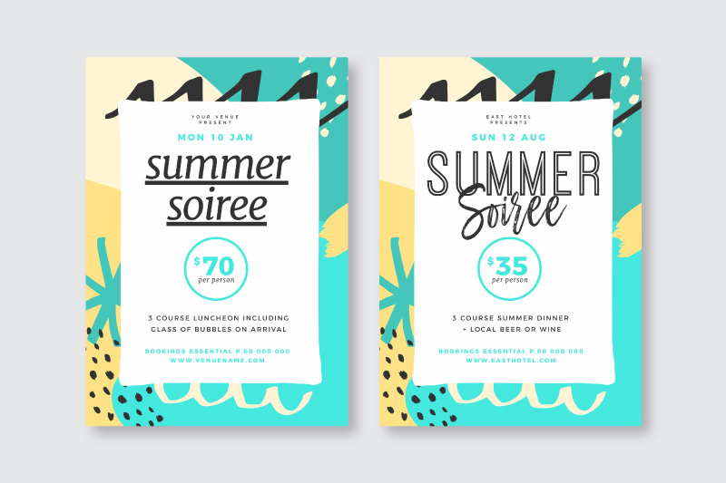 Changing the font and text only on a design template - How to Use DIY Graphic Design Templates like a Pro