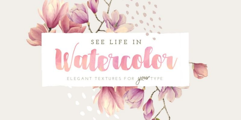 WaterColor Text Effect by Easil - 17 Ways to Use Text Effects to Create Stunning Graphics
