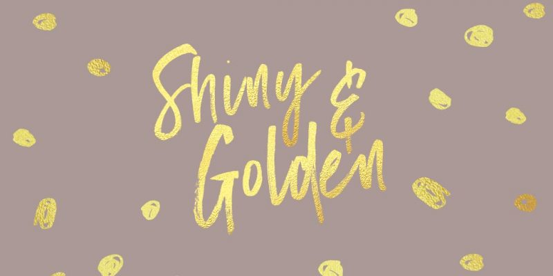 Shiny Gold Foil Text Effect by Easil - 17 Ways to Use Text Effects to Create Stunning Graphics