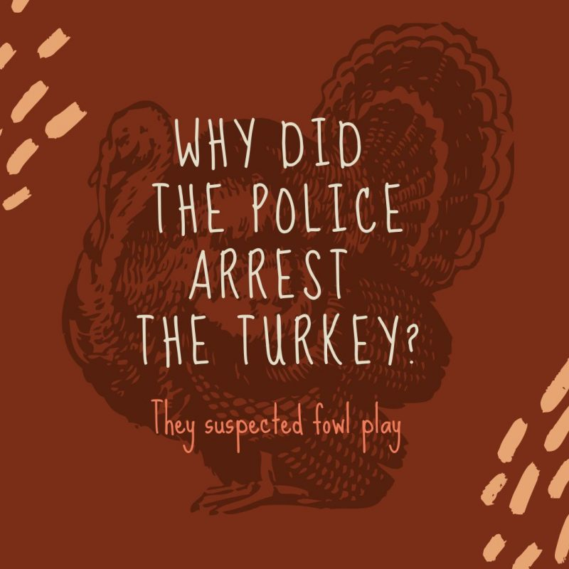 Turkey Pun Image by Easil - Thanksgiving Images and Ideas for Social Media (Seasonal Marketing Series)