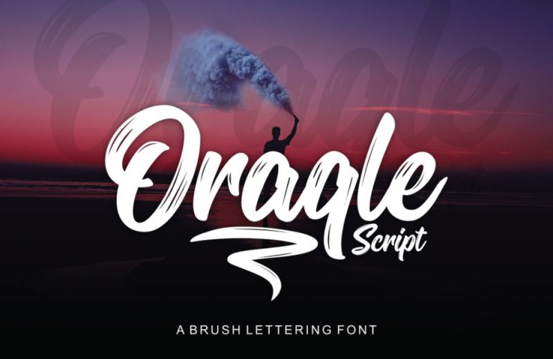 Oraqle Script - 73 Best Free Fonts to Create Stunning Designs in 2018