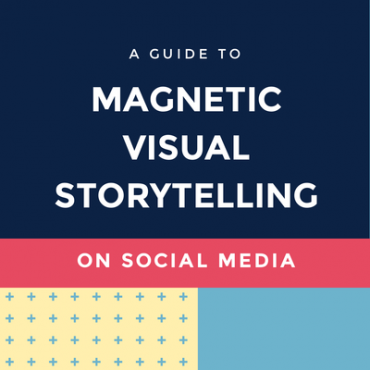 Magnetic Visual Storytelling on Social Media
