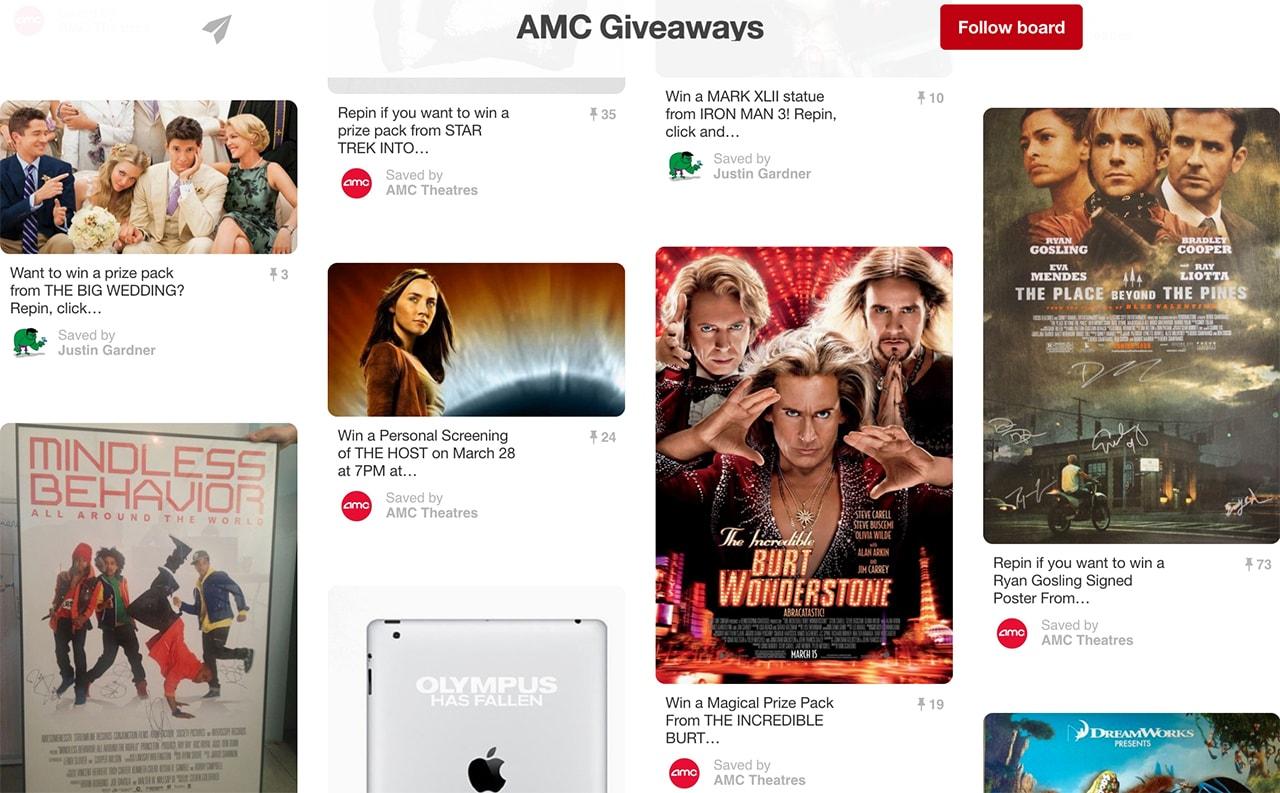 AMC giveaways