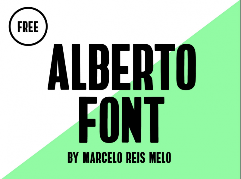 Alberto Free Font - 73 Best Free Fonts to Create Stunning Designs