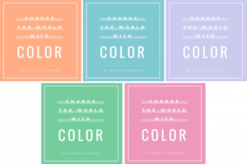 How to use alternating colors to create a GIF in Easil - Animated GIFs 10 Ways from 1 Template - Hack Your Visual Design Series