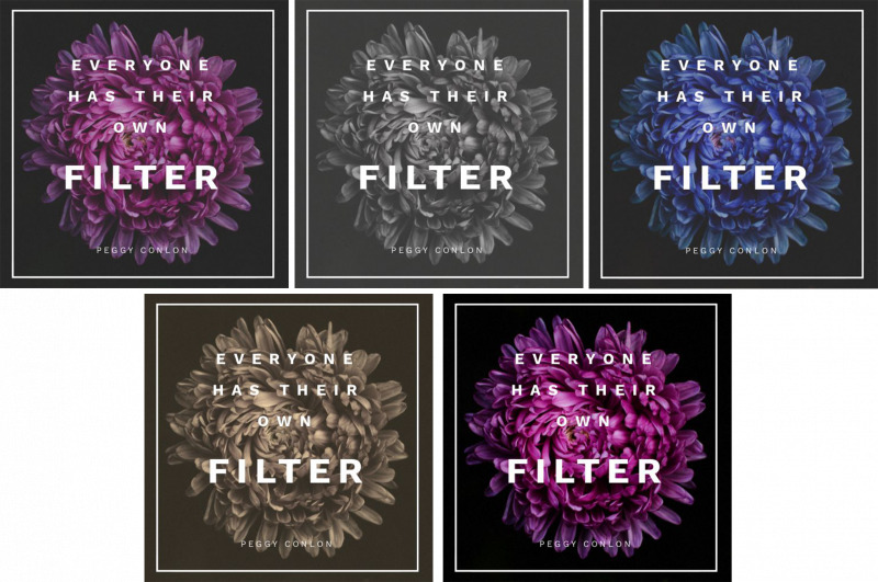 Steps to Creating a GIF with alternating colored filters - Animated GIFs 10 Ways from 1 Template - Hack Your Visual Design Series