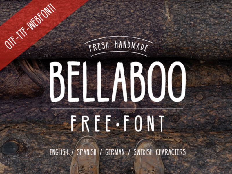 Ballaboo Free Font - 73 Best Free Fonts to Create Stunning Designs