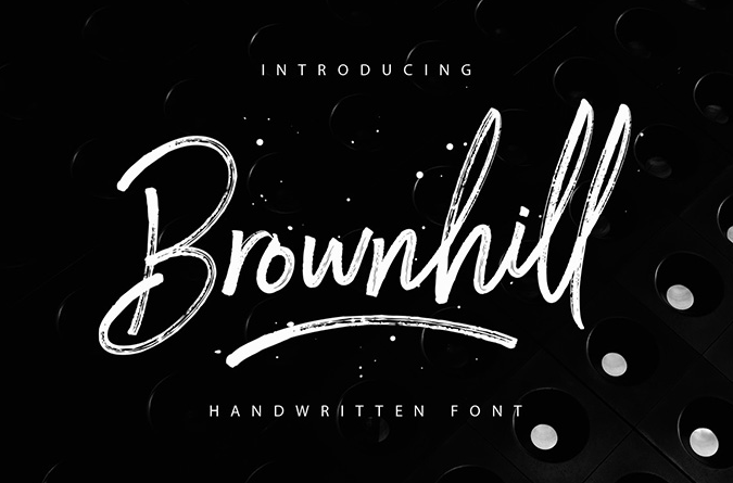 Brownhill Free Font - 73 Best Free Fonts to Create Stunning Designs