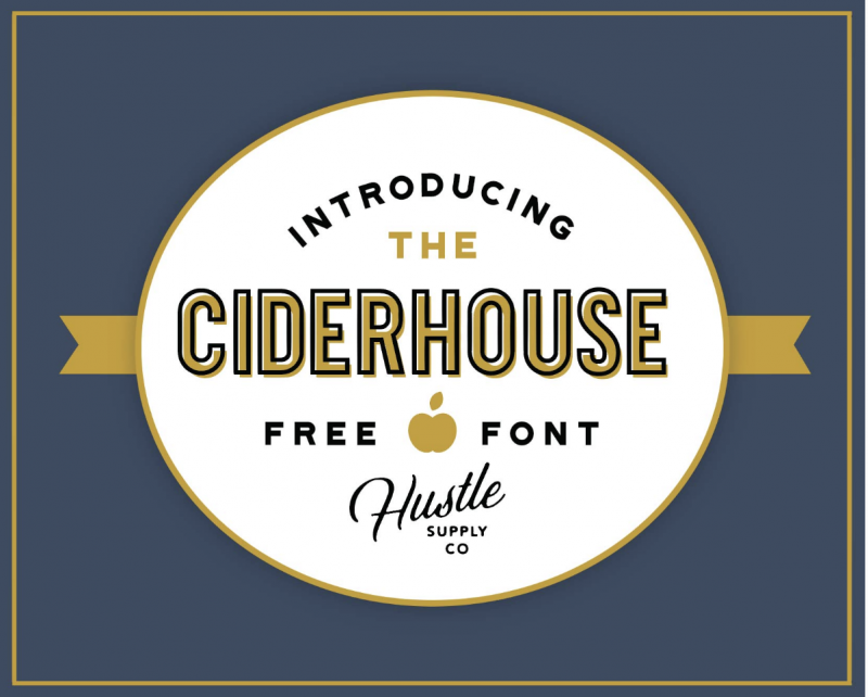 Ciderhoue Free Font - 73 Best Free Fonts to Create Stunning Designs