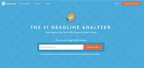CoSchedule Headline Analyzer - 10 Easy Ways to Increase Blog Traffic