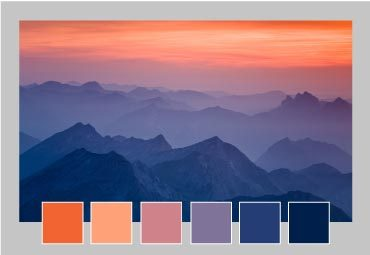 Use the color picker to personalise your restaurant menu templates