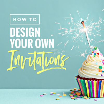 Design your own Invitations with these design Templates