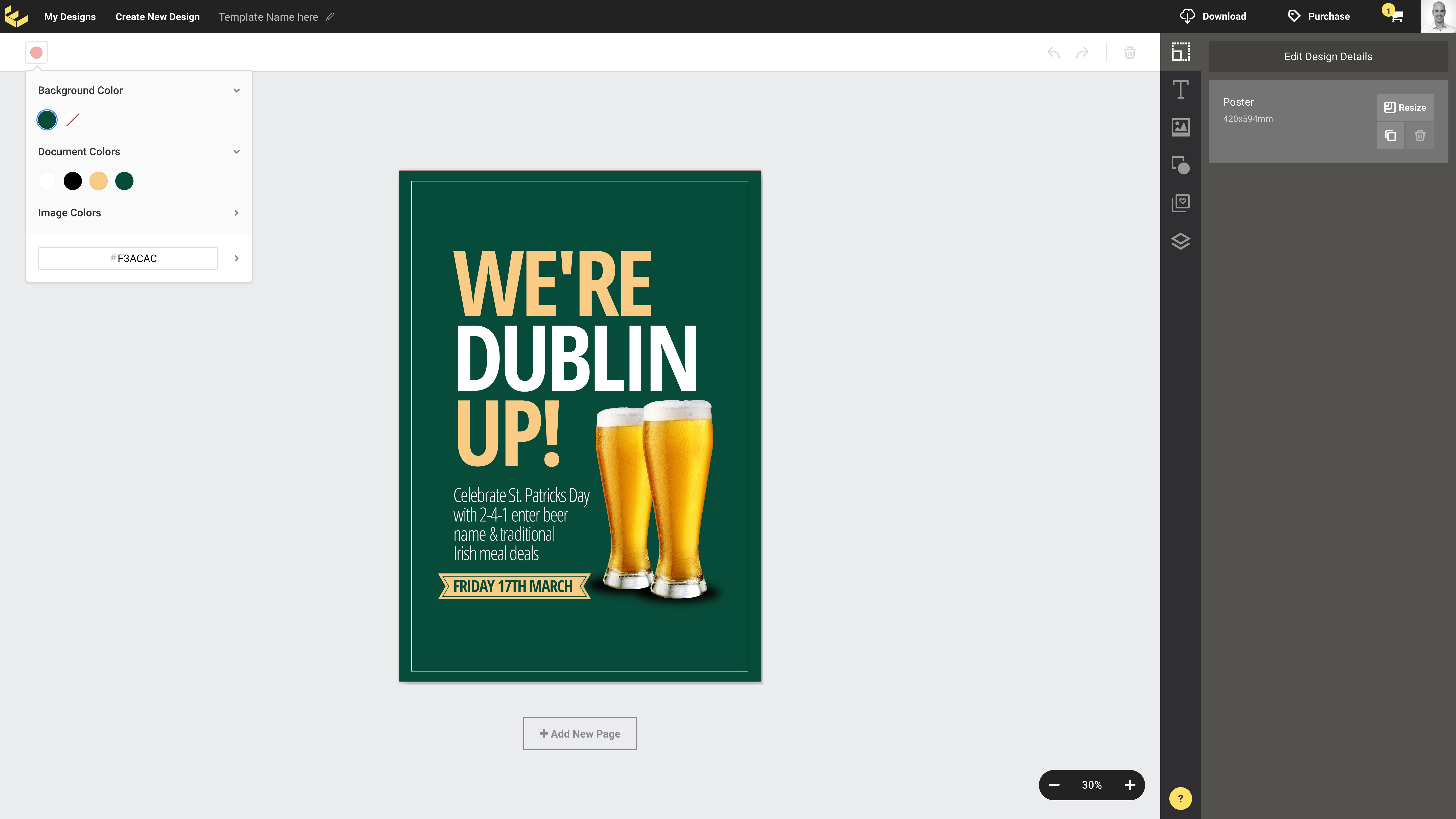 customizable st patrick s day flyer templates with easil