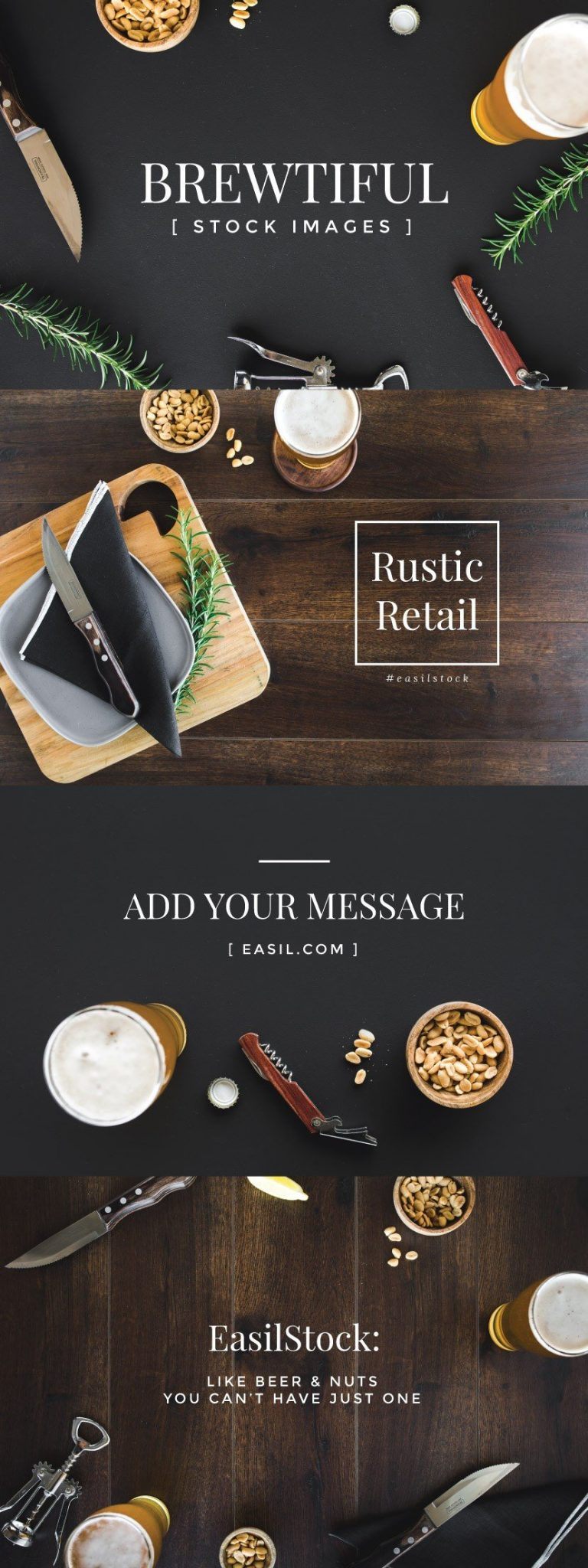 Brewtiful pub styled stock photography