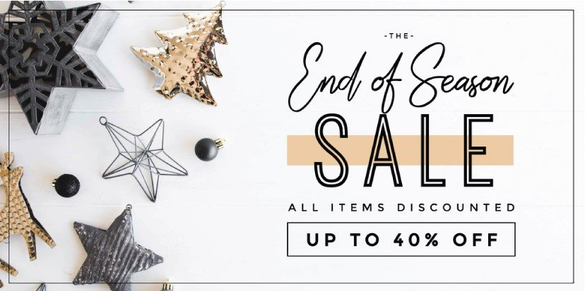 End of Season Sale template using Festive Styled Stock