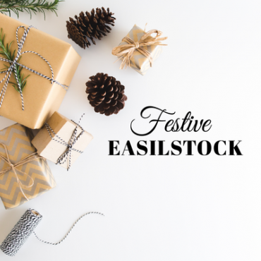 Festive styled stock photography flatlay imagery range
