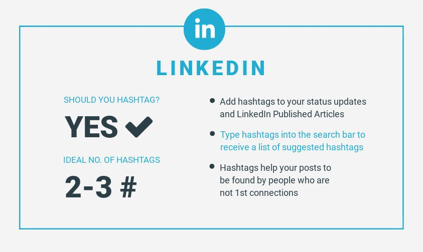 How to use hashtags on LinkedIn - How to use the Best Social Media Hashtags on Every Platform (and not mess it up)