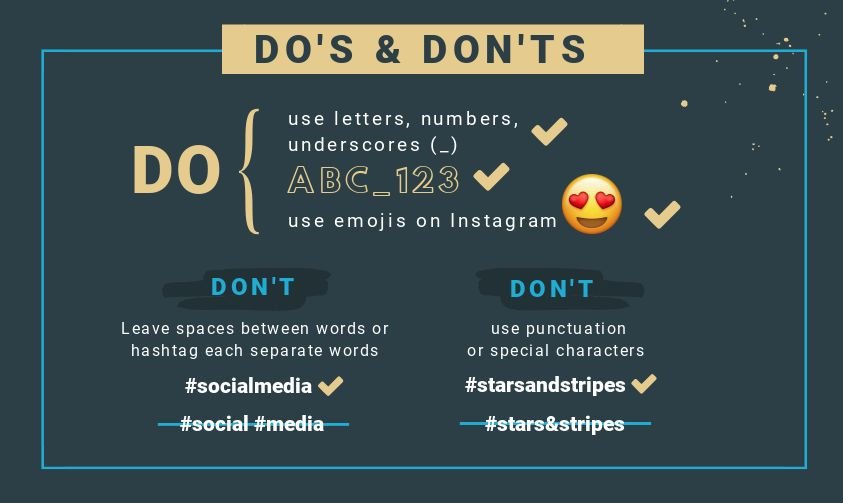 Hashtag Do's and Don'ts - How to use the Best Social Media Hashtags on Every Platform (and not mess it up)