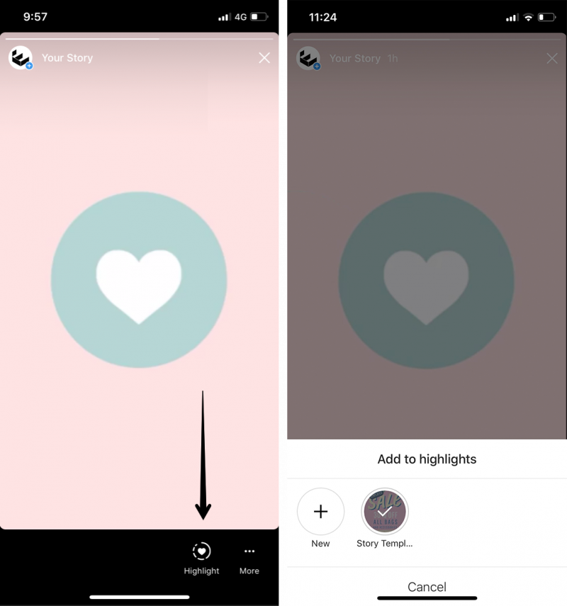 How to Create Awesome Instagram Stories Highlight Icons +