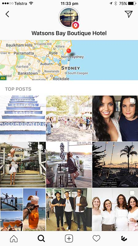 Search for Instagram Stories by Location - 7 Easy Ways to use Instagram Stories for Hotels or Venues