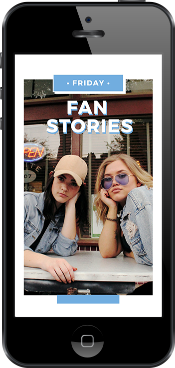 Friday Fans Free Instagram Stories Template