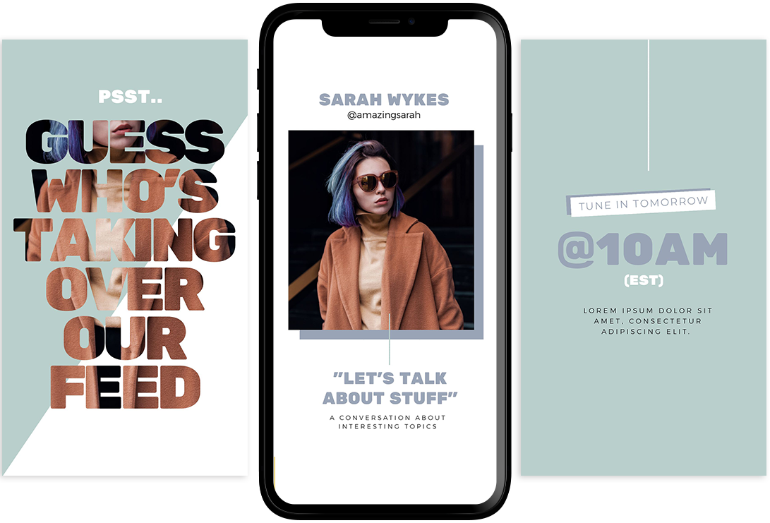 Instagram Story Takeover Template - 11 Quick & Easy Instagram Story Ideas for When You Need Inspiration