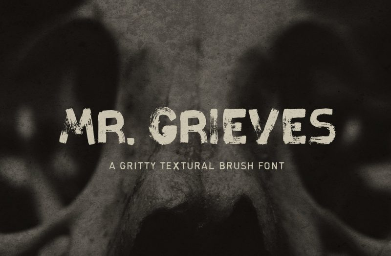 Mr Grieves - 73 Best Free Fonts to Create Stunning Designs in 2018