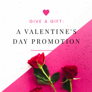 Valentine's Day Promotion Graphic Template