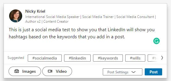 How to get suggested hashtags on LinkedIn - How to use the Best Social Media Hashtags on Every Platform (and not mess it up)