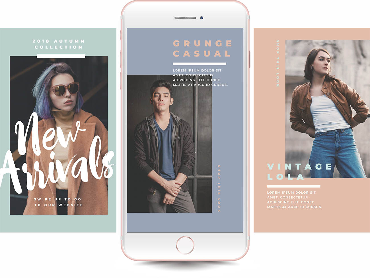 Planoly and Easil - How To Schedule Stunning Instagram Stories - choosing a template to use