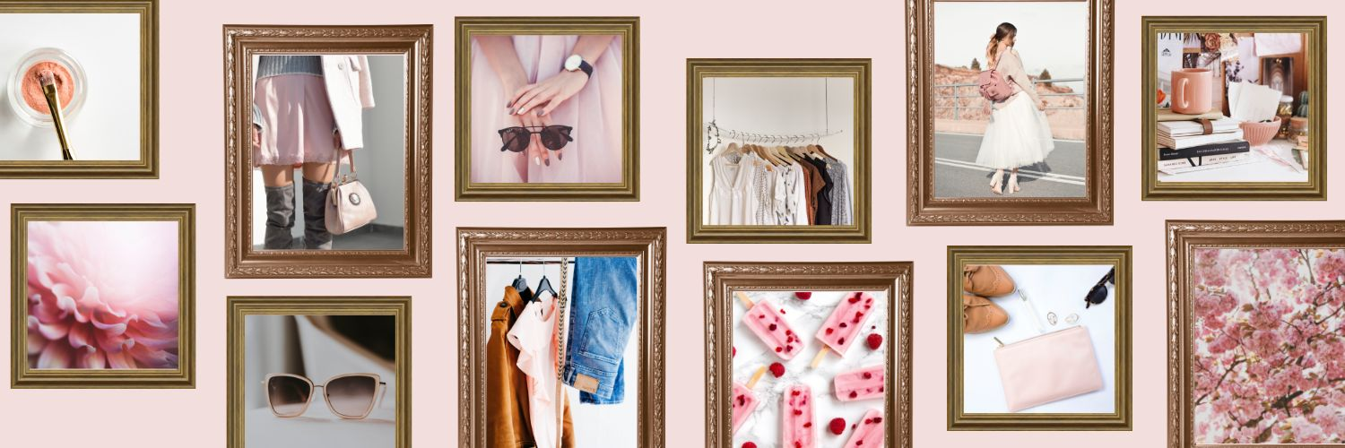 Pinterest Communities Picture Frames Cover Image Template by Easil - Pinterest Communities - What you need to know (Plus 15 Free Cover Templates)