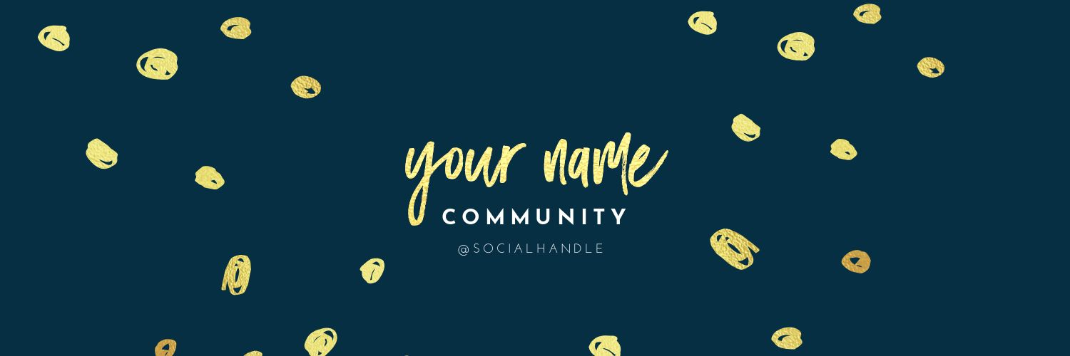 Easil Pinterest Communities Cover Image Template - Pinterest Communities - What you need to know (Plus 15 Free Cover Templates)