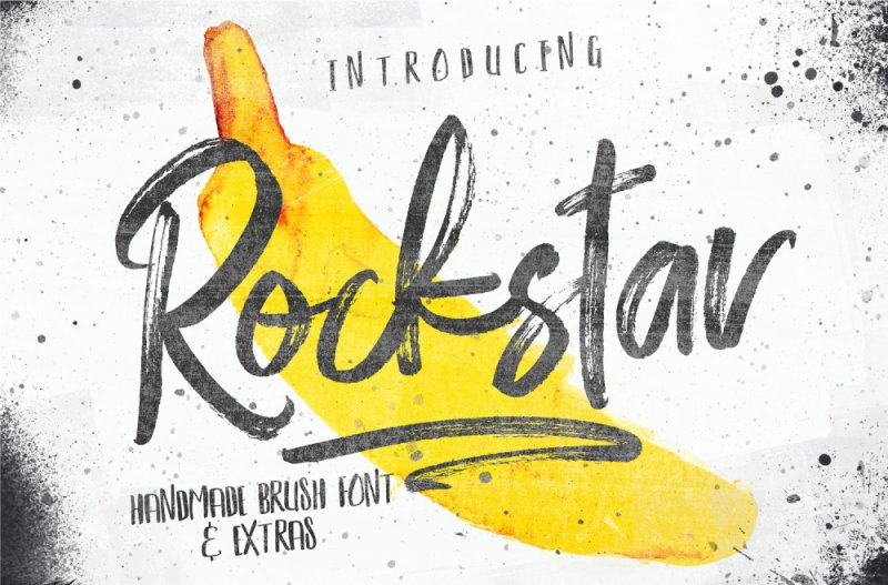 Rockstar Font - 85 Cool Free Fonts for the Best DIY Designs in 2019