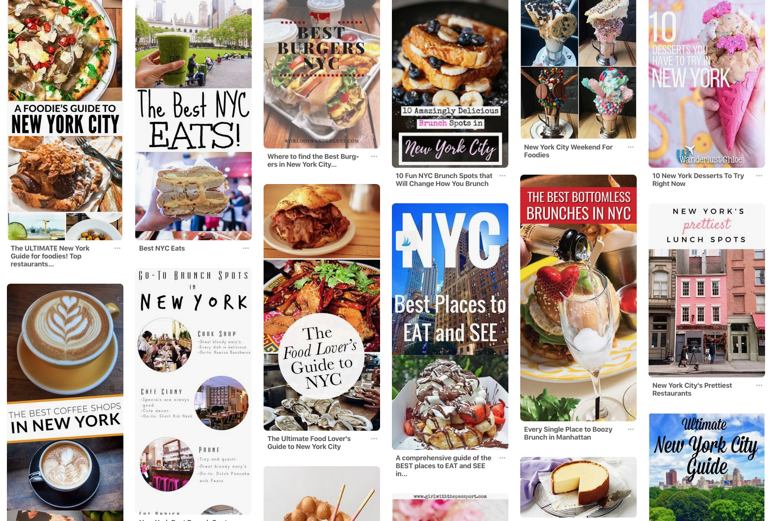How to find the best Social Platforms for your Restaurant or Venue - New York on Pinterest
