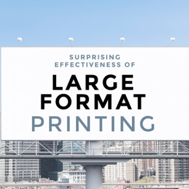 Large format printing design tips