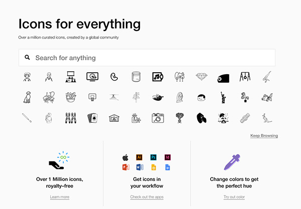 The Noun Project (for icon search)