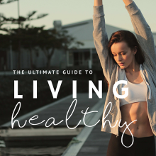 Health & fitness, lifestyle graphic template