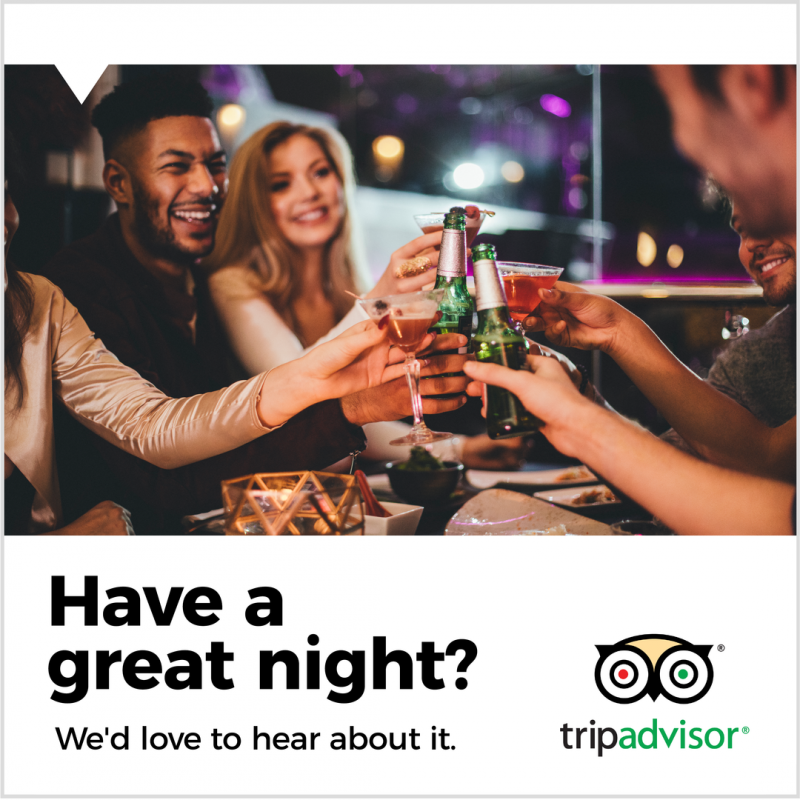 Trip Advisor Poster - Easil - How to find the best Social Platforms for your Restaurant or Venue