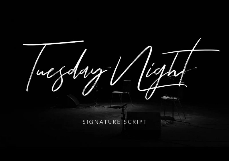 Tuesday Night Font - 73 Best Free Fonts to Create Stunning Designs
