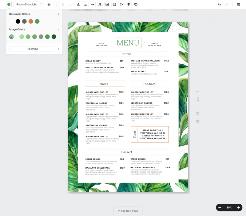 How to add custom colors to the Menu Template - 1 Menu Template, 10 Ways - Hack Your Visual Design Series