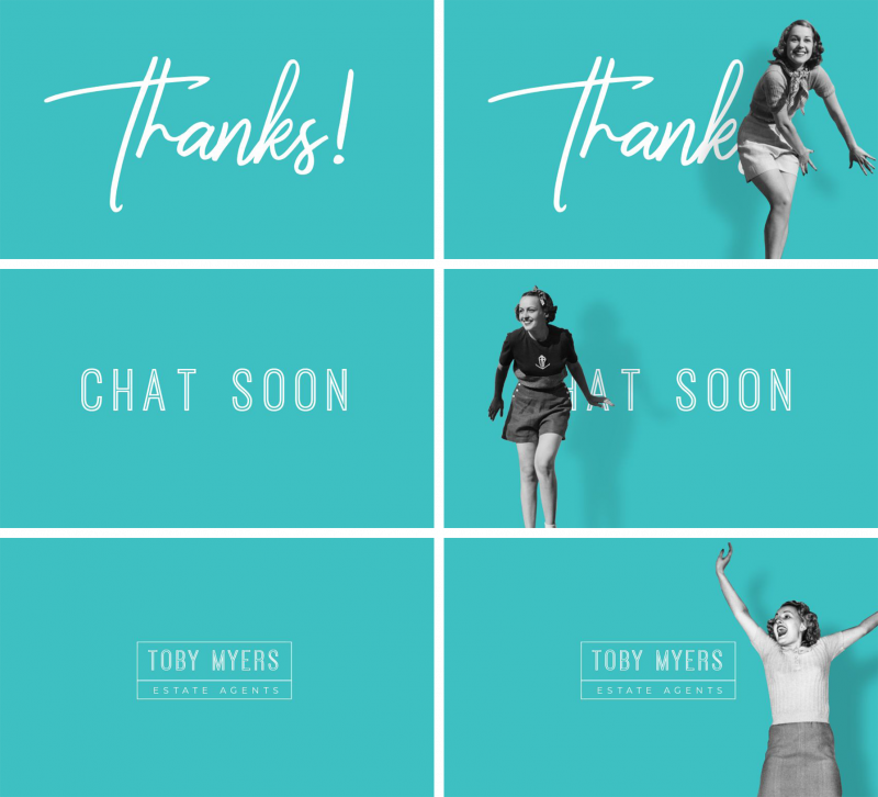 How to Make a Thank You GIF in Easil - Branded Gifs: How To Make Gifs That Make Your Brand Stand Out #GIFs #AnimatedGraphics #AnimatedGIFs #Images #VisualContent