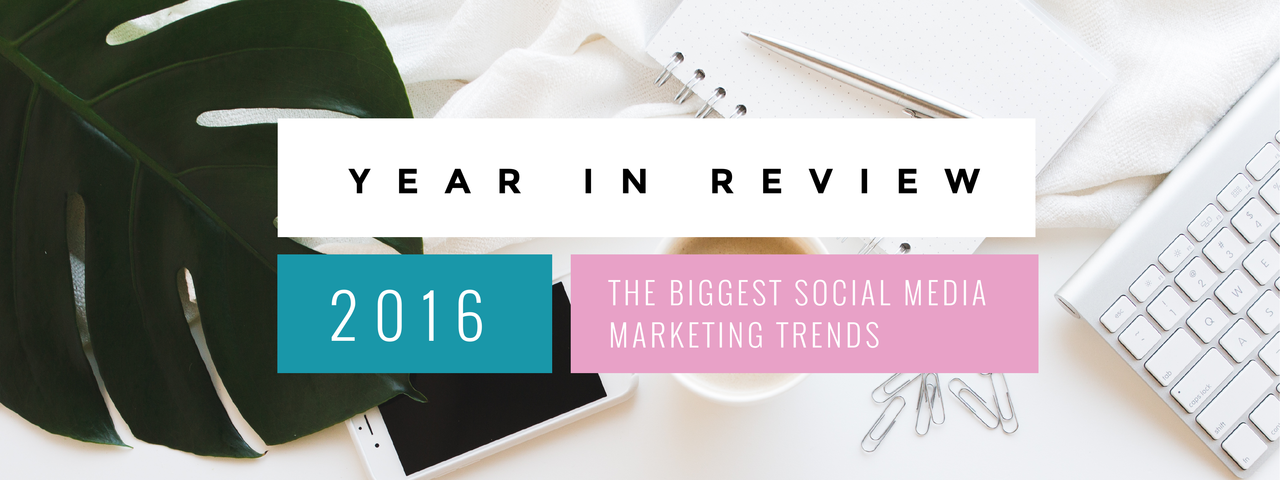 The biggest social media marketing trends
