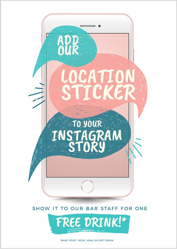 How to find the best Social Platforms for your Restaurant or Venue - Easil Post for Location Stickers