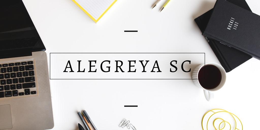 Ulimate Font Pairing Guide - Alegreya SC Font